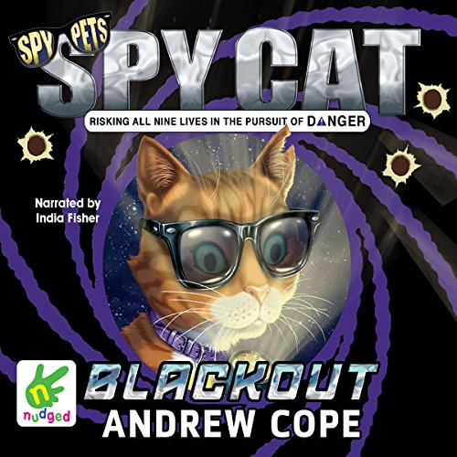Spy Cat: Blackout audiobook cover art