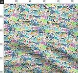 Animal Print, Tier, Zebra, Pferd, Zoo, Regenbogen, Afrika