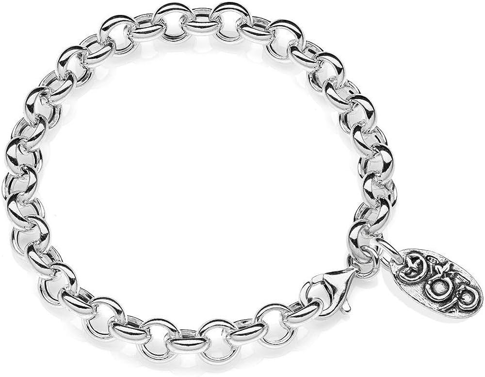 Dop gioielli bracciale premium per donna in argento 925 fatto a mano in italia BRDOP003