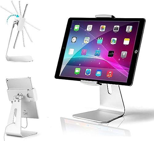 AboveTEK Elegant Tablet Stand, Aluminum iPad Stand Holder, Desktop Kiosk POS Stand for 7-13 inch iPad Pro Air Mini Ga...