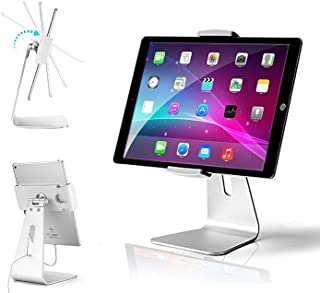 AboveTEK Elegant Tablet Stand, Aluminum iPad Stand Holder, Desktop Kiosk POS Stand for 7-13 inch iPad Pro Air Mini Galaxy ...