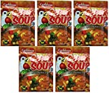 Caribbean Dreams Cock Soup'Spicy Chicken Soup Mix' 1.76 Ounce (5 Pack)