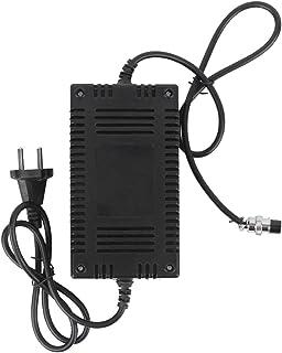 KF ‑ PO114 Elektrische scootmobiel voor ouderen 24 V Lader Voedingsadapter Plastic Hoog rendement 90‑240V (Zwart)
