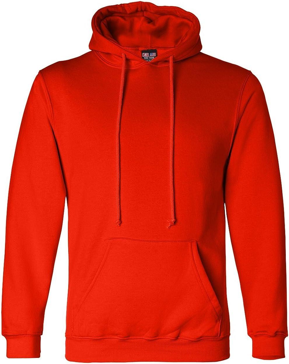 Bayside Apparel Pullover Hooded Sweatshirt (BA960)