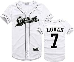 EXO Seoul Concert Same Style T-Shirt Baekhyun Sehun Xiumin Hip-hop Shirt
