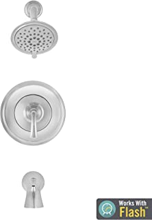 American Standard TU106502.002 Patience Tub and Shower Trim Kit with Cartridge, Polished Chrome