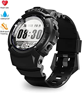 Sport Watch for Men Fitness Tracker Smart Activity Tracker IP68 164ft Professional Waterproof HR with Heart Rate Monitor, Step/Calorie Counter, Pedometer, Compass, 6 Sports Mode, 30 Days Working Time