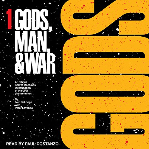 Gods: Sekret Machines audiobook cover art