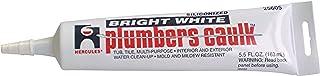Oatey 25605 Hercules 6-Ounce White Tube Plumber`s Caulk