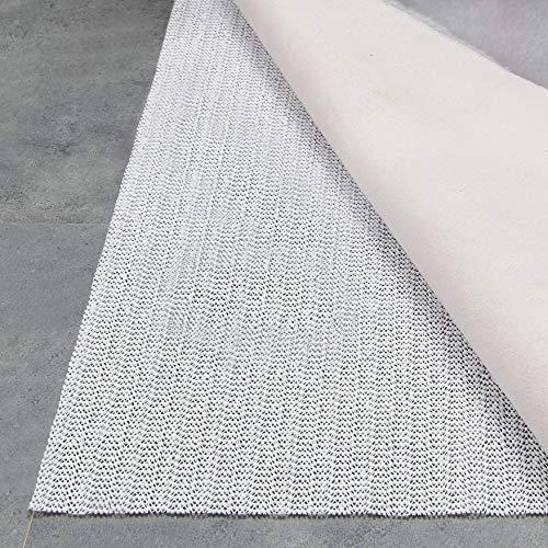Teppich Wölkchen Teppich-Unterlage Anti-Rutsch-Matte II 17 Größen II rutschfest in Schublade Auto Kofferraum und Zuschneidbar I 110 x 160 cm