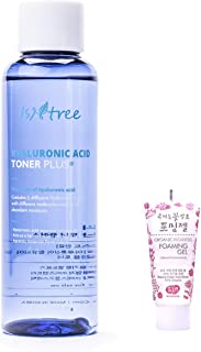ISNTREE Hyaluronic Acid Toner Plus 6.76 fl.oz. | Super Deep Moisturizing, Soothing, Nourishing