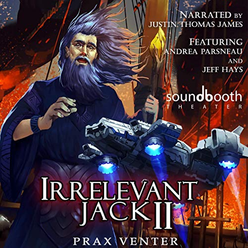 Irrelevant Jack 2 audiobook cover art