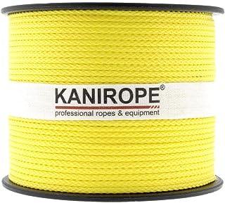 Kanirope PP Seil Polypropylenseil MULTIBRAID 1mm 100m Farbe Gelb 1132 8x geflochten