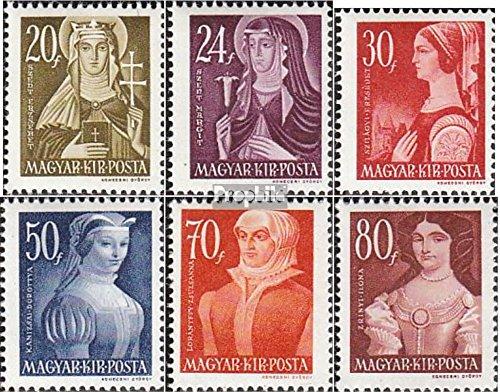 Prophila Collection Ungarn 754-759 (kompl.Ausg.) 1944 Freimarken (Briefmarken für Sammler)