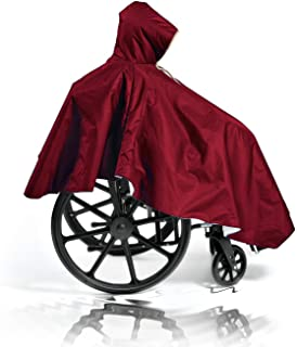 winter wheelchair poncho