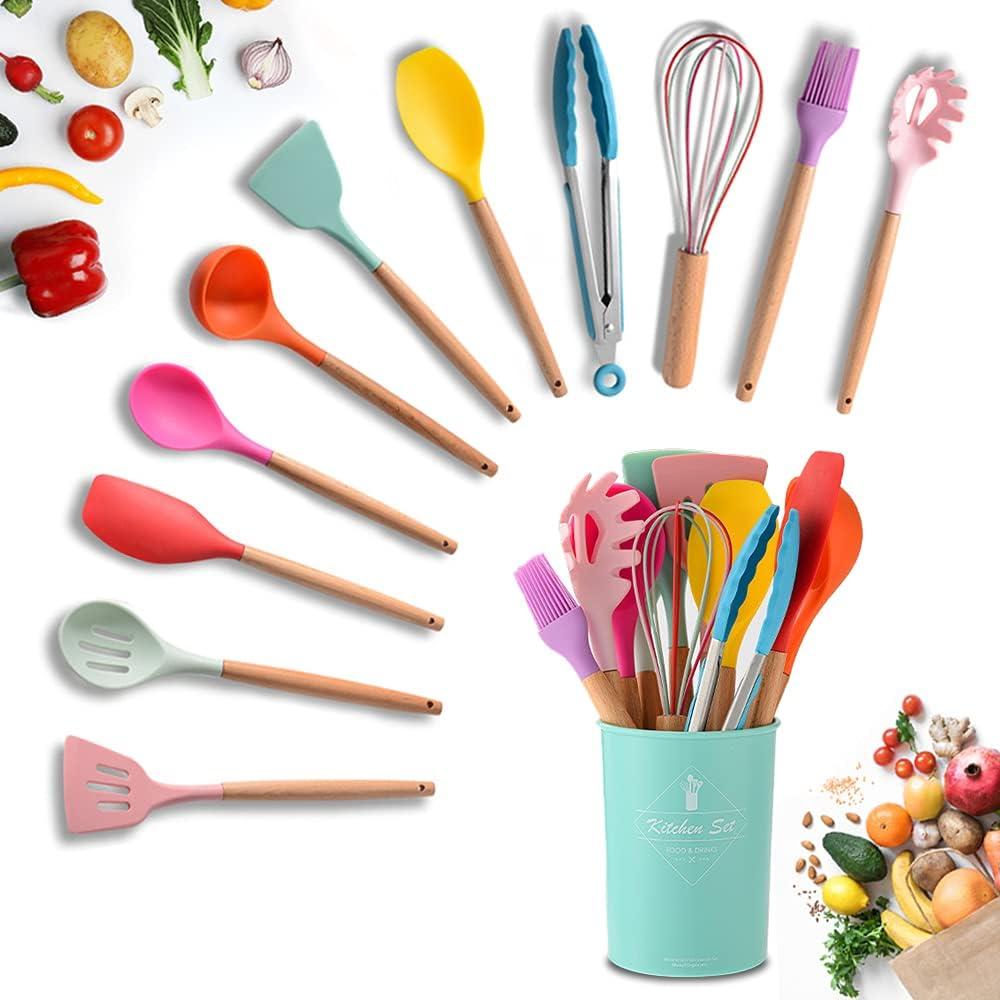 Silicone Kitchen Utensils Set Cooking 11Pcs Max Discount is also underway 57% OFF Se