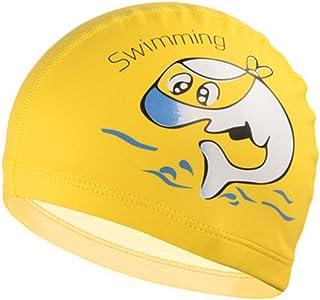 2bf71422676a Gogokids Cuffia Piscina, Bambini Cuffia Nuoto per la Cura dei Capelli e  della Protezione dell