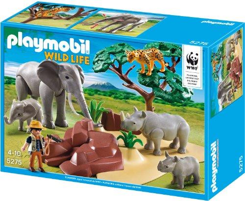 Playmobil 5275 - WWF-Forscher bei afrikanischen Savannentieren