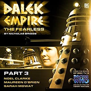 Dalek Empire - The Fearless Part 3 cover art