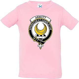 Tenacitee Baby's Scottish Clan Crest Badge Arnott Shirt