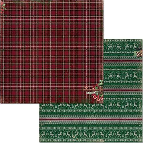 Bo Bunny 7310914 Weihnachtliche Schätze 12x12 Papier