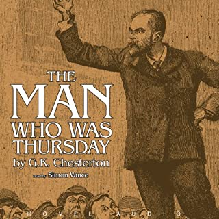 The Man Who Was Thursday audiobook cover art