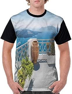 BlountDecor Performance T-Shirt,Blooming Bouquet Romance Fashion Personality Customization