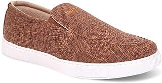 SPARX Men Brown Slip On Canvas Sneakers