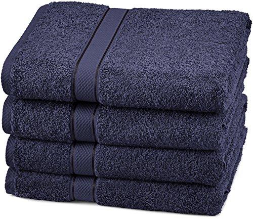 Amazon Brand – Pinzon 4 Piece Egyptian Cotton...
