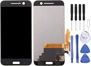 AFANG Replacement LCD screen + touch screen digitizer assembly for HTC 10 / One M10(Black) (Color : Black)
