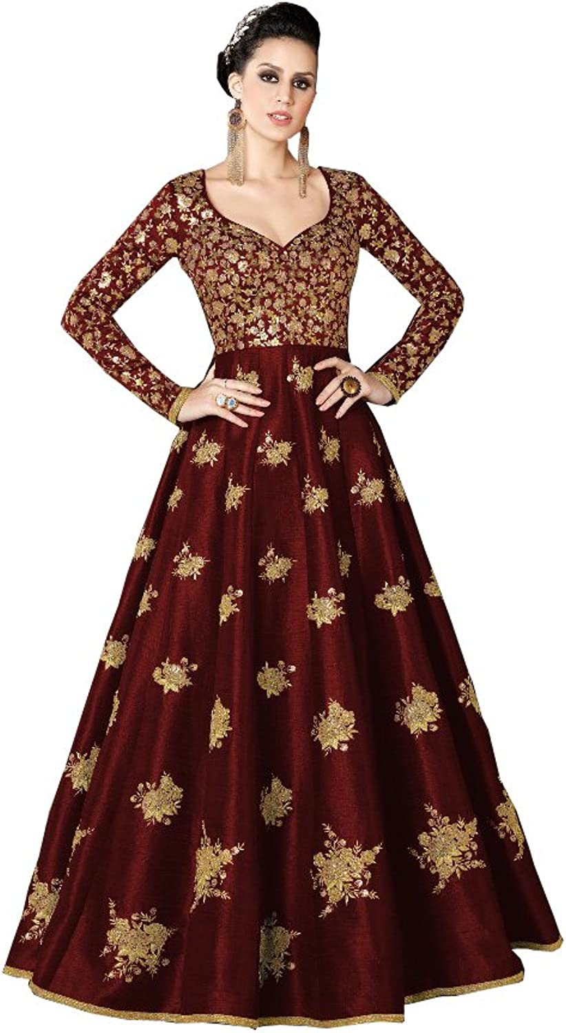 AMIT FASHIONS Exclusive Indian Designer Gown for Women