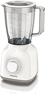 Philips HR2100/00 Blender Daily Blanc et Beige 400 W