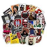 Mix Classic Movie Sticker Romanzo Leon Shine Kills Bill Sticker Bagaglio Laptop Skateboard Decal 50 Pezzi