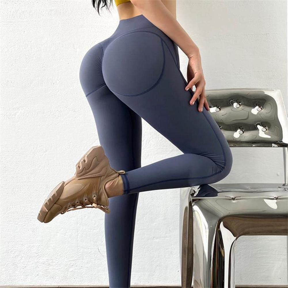 Yoga Bombing free shipping Pants Polyester Max 87% OFF Solid Color Cycling Sports Compres Leggings