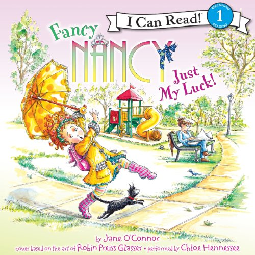 Fancy Nancy: Just My Luck! audiobook cover art