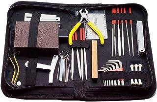 Gecheer Complete Guitar Accessories Guitar Repairing Kit Guitar Care Kit Maintenance Tool Set Cleaning Accessories