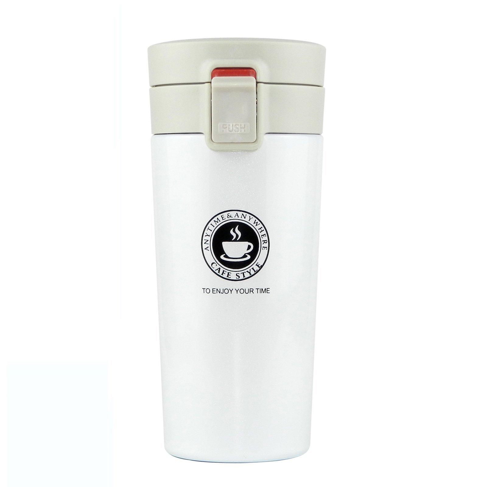 Visualizzazione temperatura della tazza tazza di caff/è Thermos Isolamento termico intelligente in acciaio inossidabile 304 Personalizza con confezione regalo e spazzola per tazza