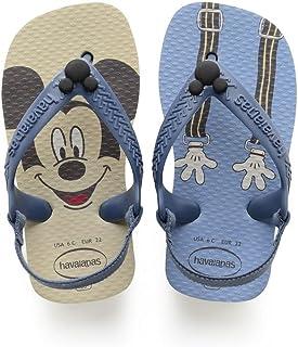 Havaianas Sandálias New Baby Disney Classic, Ice Blue/Marinho