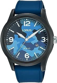 ساعة بسوار سيليكون للرجال من لوروس سبورتس، موديل RH915MX9