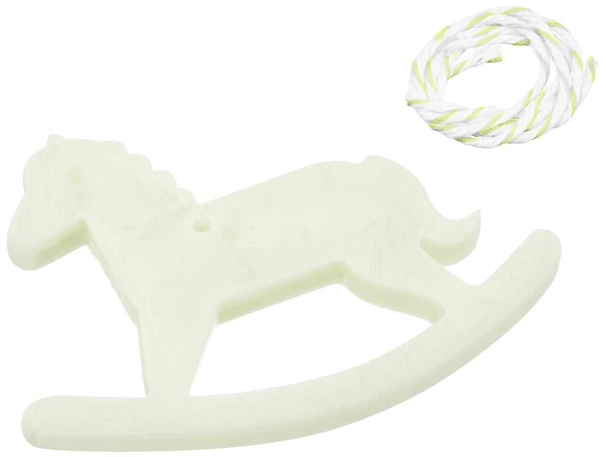 連結するライドわかりやすいGRASSE TOKYO AROMATICWAXチャーム「木馬」(GR) レモングラス アロマティックワックス グラーストウキョウ