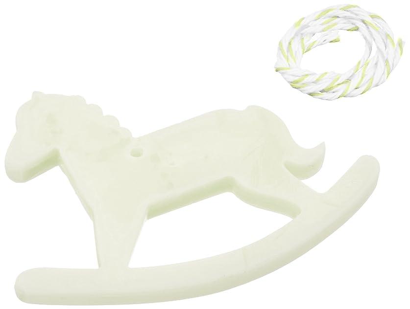 ハイキング苦行ミケランジェロGRASSE TOKYO AROMATICWAXチャーム「木馬」(GR) レモングラス アロマティックワックス グラーストウキョウ