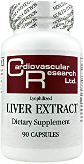 Cardiovascular Research Liver Extract, White, 90 Count