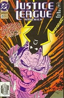 Justice League America #76 Blood Secrets Part One