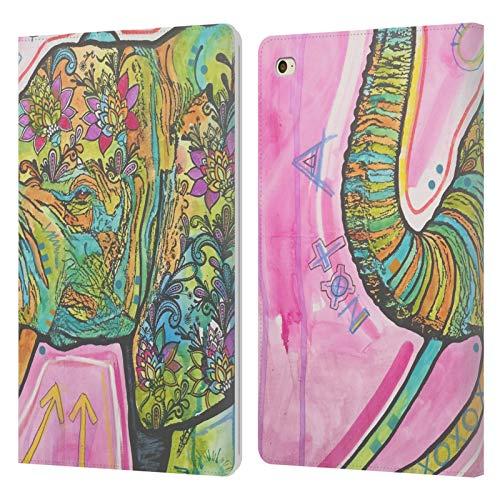 Head Case Designs Oficial Dean Russo No es una mercancía Vida Silvestre 5 Carcasa de Cuero Tipo Libro Compatible con Apple iPad Mini 4