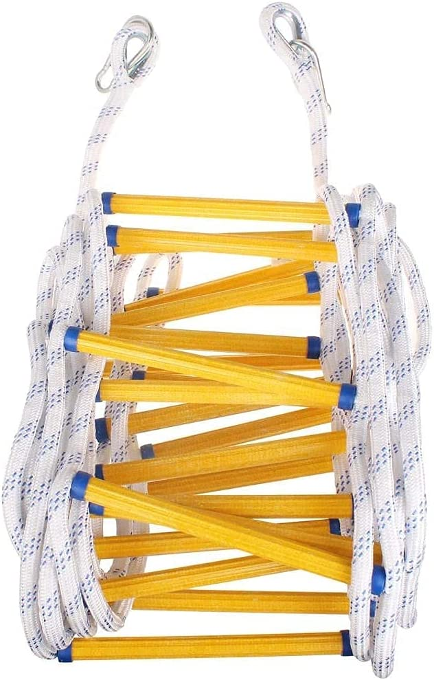 ANUOMY Emergency Fire Ranking TOP19 Escape Max 45% OFF Ladder Resistant Rope Safety Flame