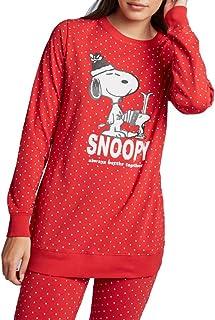 Pijama Topos Snoopy Mujer