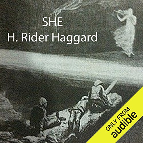 She                   By:                                                                                                                                 H. Rider Haggard                               Narrated by:                                                                                                                                 Alan Munro                      Length: 12 hrs and 10 mins     82 ratings     Overall 3.6