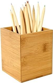 caja de almacenaje caja de pajita Bassk color BL Organizador multifunci/ón con 4 rejillas para escritorio para bol/ígrafos escuela oficina