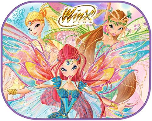 Winx Club 80450 Winx Coppia Tendine Laterali, Multicolore, 44 x 35 cm