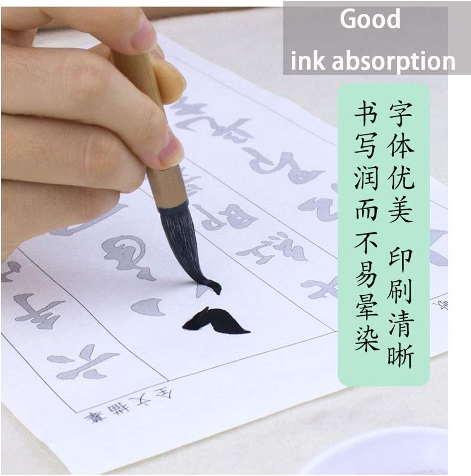 Cao Jue Bai Yun Ge 草诀百韵歌 Tianjintang A4 Size Chinese Calligraphy Ink Writing Sumi Tracing Rice Xuan Paper for Beginner Wang Xizhi 王羲之 Style Penmanship